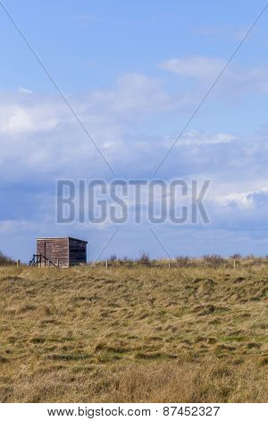 Wooden Bird Watching Hut Spurn Point