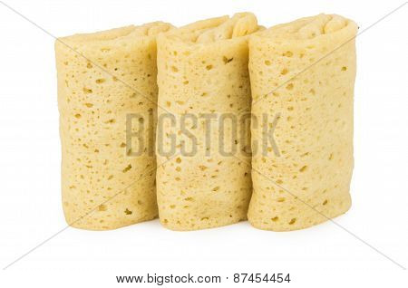 Three Pancakes With Filling