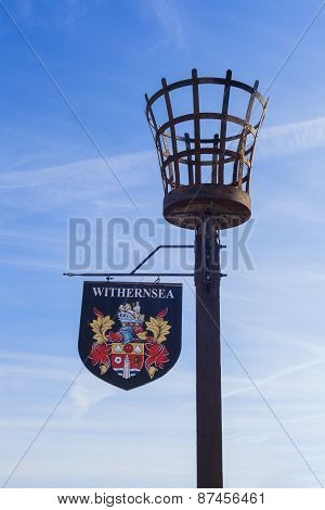 Withernsea Seaside Town Sign