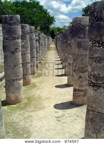 Chichen Itza Collonade