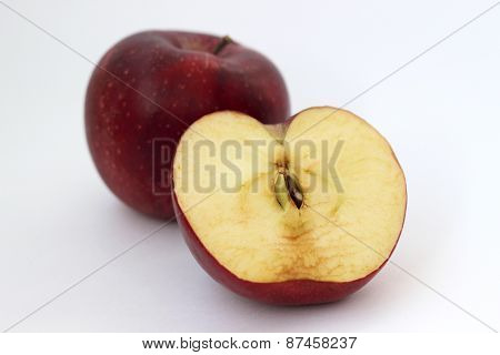 One and half apples
