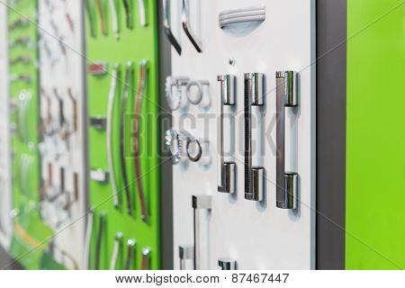 Big range of metal handles