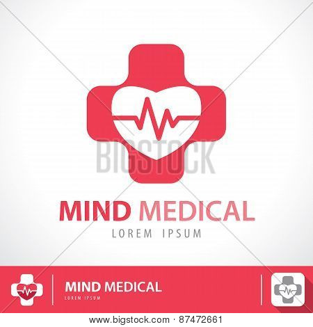 Mind Medical Symbol Icon