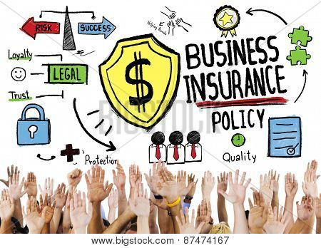 Business Insurance Security Concept