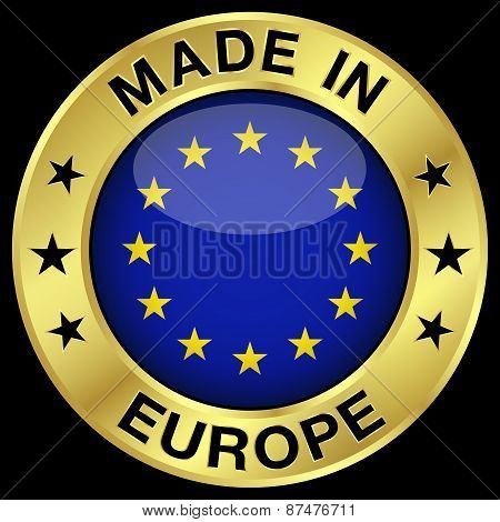 Europe Made In Badge