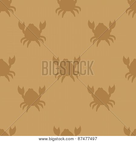 Crabs On Brown