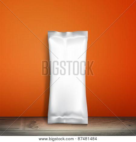 Mockup Foil Food Snack