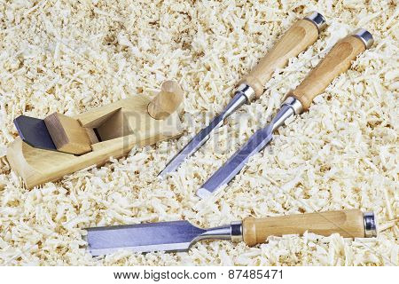 Chisels And Spokeshave