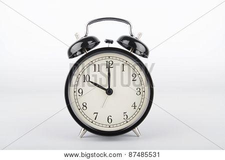 Ten O'clock. Alarm Clock.