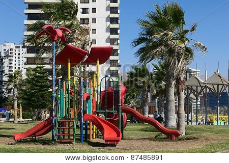 Playground in Iquique, Chile