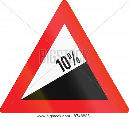 Incline 10 Percent In Austria