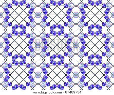 Futuristic Geometric Tech Pattern