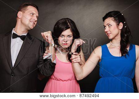 Marital Infidelity Concept.