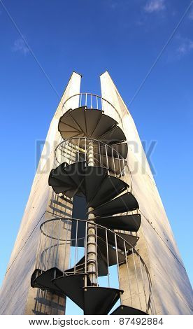 Lookout Tower From Below