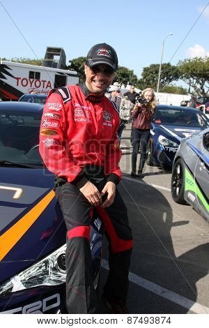 LOS ANGELES - FEB 7:  Raul Mendez at the Toyota Grand Prix of Long Beach Pro/Celebrity Race Press Day at the Grand Prix Compound on FEB 7, 2015 in Long Beach, CA