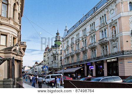 street of Lvov
