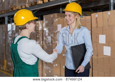 Supervisor And Storage Worker