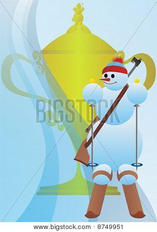 Prize Cup biathlon.