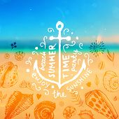 image of anchor  - Set of Summer Elements - JPG