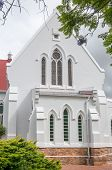 image of south-western  - Dutch Reformed Church in Rawsonville in the Western Cape Province of South Africa - JPG