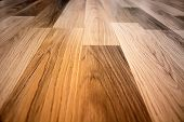 stock photo of laminate  - Laminated flooring board - JPG
