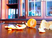 stock photo of decomposition  - The mandarin - JPG