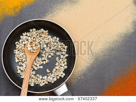 Millet For Grain And Cereal.