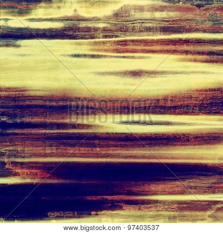 Antique vintage textured background. With different color patterns: yellow (beige); brown; purple (violet); blue
