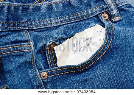 In My Denim Pocket