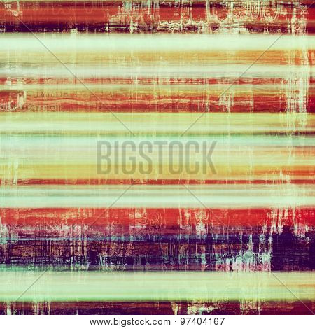 Old style detailed texture - retro background with space for text or image. With different color patterns: yellow (beige); purple (violet); green; red (orange)