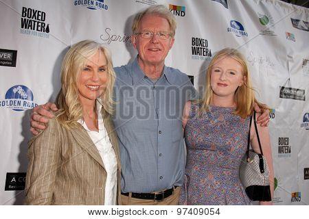 LOS ANGELES - JUL 29:  Ed Begley Jr, family at the