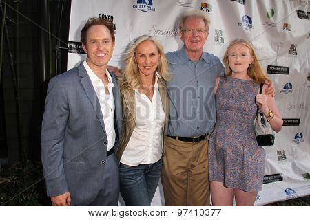 LOS ANGELES - JUL 29:  Raphael Sbarge, Ed Begley Jr & Family at the