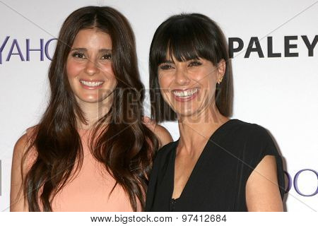 LOS ANGELES - JUL 30:  Shiri Appleby, Constance Zimmer at the An Evening With Lifetime's