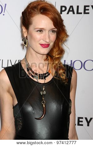 LOS ANGELES - JUL 30:  Breeda Wool at the An Evening With Lifetime's