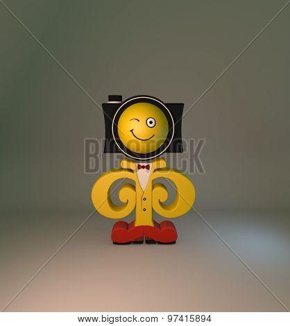 photo character