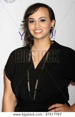 LOS ANGELES - JUL 30:  Aline Elasmar at the An Evening With Lifetime's