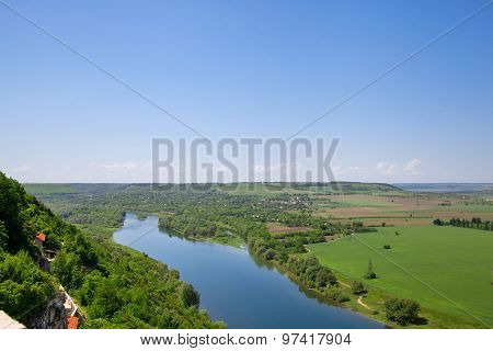 View Overlooking River