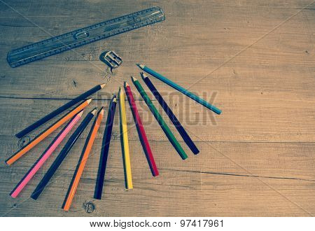 Color Pencil For School