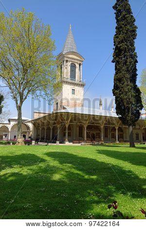 Harem Building In Topkapi Palace In Istanbul