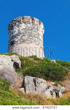 Old Genoese Tower, Ajaccio, Corsica, France