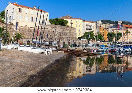 Port Of Ajacciio, Corsica Island, France