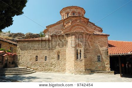 Church Of Roussanou Monastery,meteora,greece,balkans, Meteora Complex Is  Greek Unesco Heritage