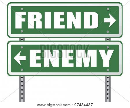 friend enemy best friends or worst enemies friendship
