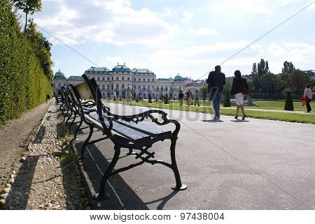 Belvedere - Country Residence Of The Prince Of Savoy, Vienna