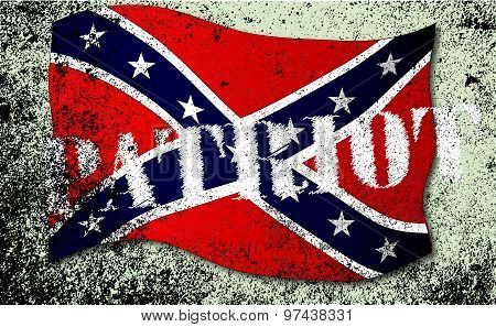Patriot Confederate Flag