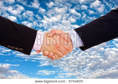 Business Men Hand Shake