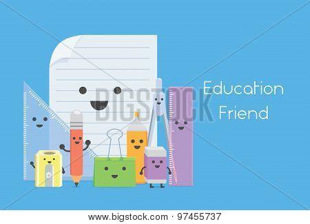 Education equipment is education friend in school