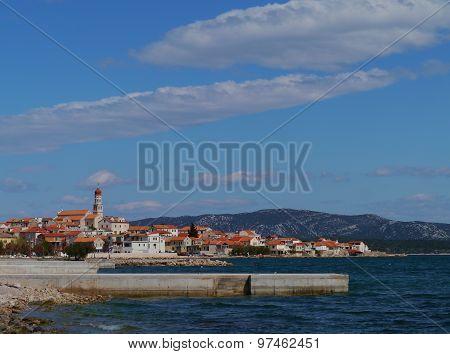 The Croatian village Betina