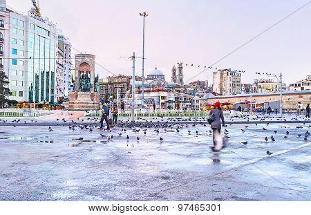 The Taksim Square
