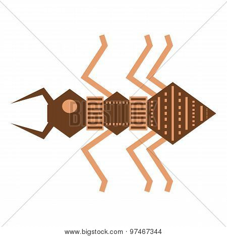 Ethnic Ant Drawing